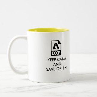De perfecte Mok van de Koffie van de Ontwerper