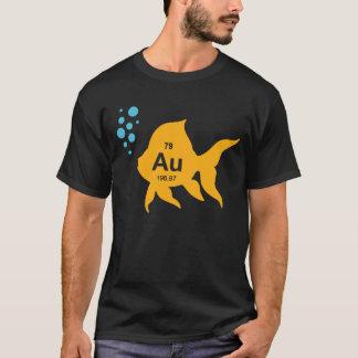 De periodieke Elementaire Gouden Vissen van de T Shirt