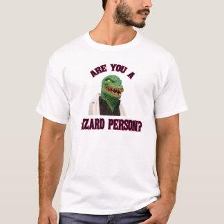 De Persoon van de hagedis T Shirt