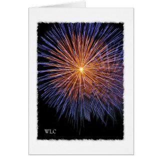 De persoonlijke Kaart van de Nota, 4 het Vuurwerk