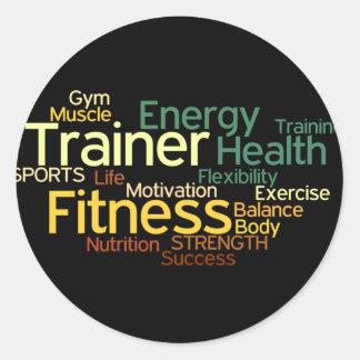 De persoonlijke Sticker van de Trainer