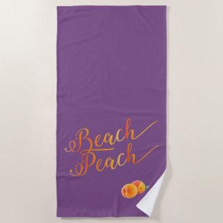 De Perziken van de Perzik van het strand en Strandlaken