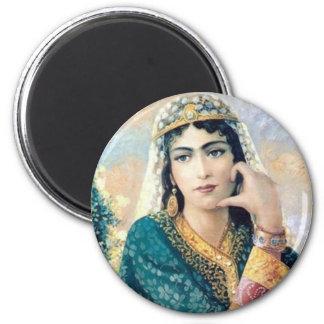 De Perzische Mensen die van de Vrouw in detail sch Magneet
