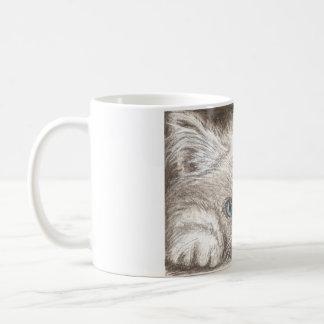 De Perzische Mok van de Koffie van het Katje
