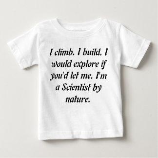 De Peuter die van het baby de T-shirts van Genieën