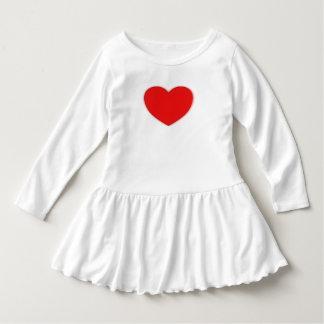 de peuter verstoorde het hartafbeelding van de shirts