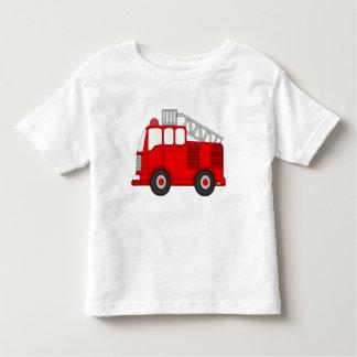 De peutert-shirt van Firetruck van de peuter Kinder Shirts