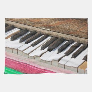 De piano sluit 2 theedoek