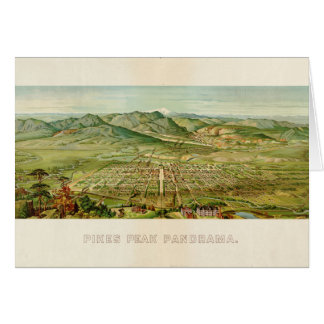 De Piek van snoeken, Colorado Springs, Colorado Wenskaart