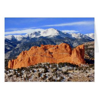 De Piek van snoeken, Colorado Springs Kaart