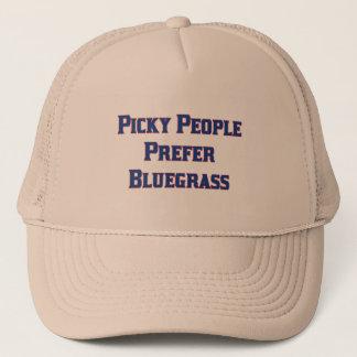 De pietluttige Mensen verkiezen Bluegrass Trucker Pet