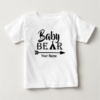 De Pijl van de grote Broer draagt Gepersonaliseerd Baby T Shirts