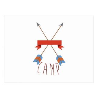 De Pijlen van het kamp Briefkaart