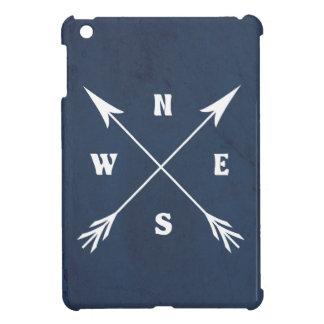 De pijlen van het kompas iPad mini case