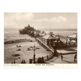 De Pijler van Blackpool, Victoria Briefkaart