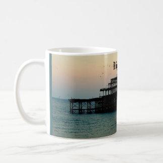 De Pijler van Brighton Koffiemok