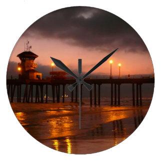 De Pijler van Californië van het Strand van Huntin Grote Klok