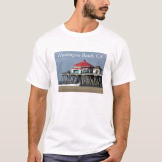 De Pijler van het Strand van Huntington - Diner de T Shirt