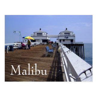 De Pijler van Malibu, het Briefkaart van