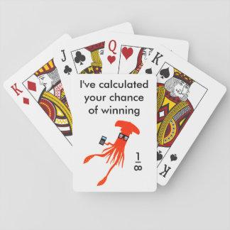 De pijlinktvisspeelkaarten van Geek Speelkaarten