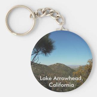 De Pijlpunt van het meer, Californië-Zeer Sleutelhanger