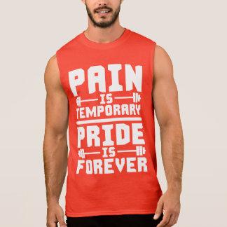 De pijn is Tijdelijk, voor altijd is de Trots T Shirt
