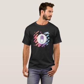 De Pil van de gradiënt - Paars Roze Aqua T Shirt