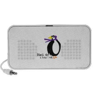 De Pinguïn van de avondkleding Draagbare Speaker