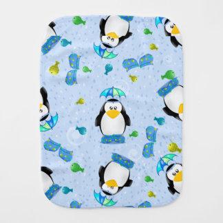 De Pinguïn van de Laarzen van de regen Spuugdoekje