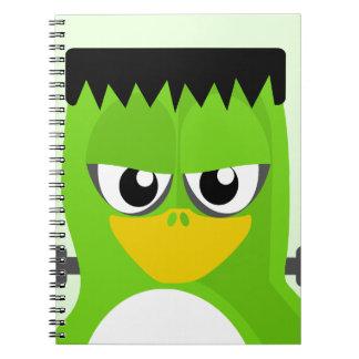 De Pinguïn van Frankenstein Notitieboek
