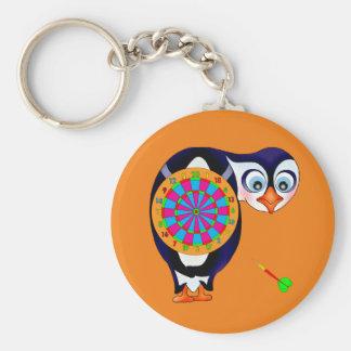 De Pinguïn van het pijltje door Happy Juul Company Sleutelhanger