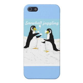 De Pinguïn van Pengy, sneeuwbal het jongleren met iPhone 5 Hoesjes