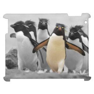 De Pinguïnen van Rockhopper Hoesje Voor iPad