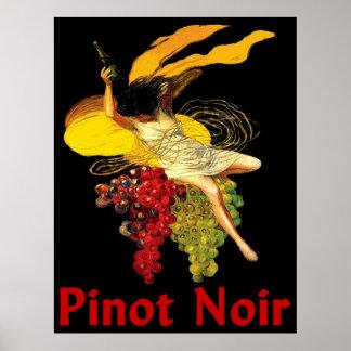 De Pinot Noir van het Meisje van de wijn Poster