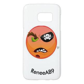 De Piraat van Emoji door ReneeAB9 Samsung Galaxy S7 Hoesje
