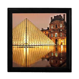 De Piramide van het Louvre, Parijs Decoratiedoosje
