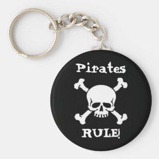 De piraten beslissen! sleutelhanger