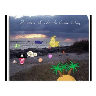 De piraten van de Kaap van het Noorden mogen Briefkaart