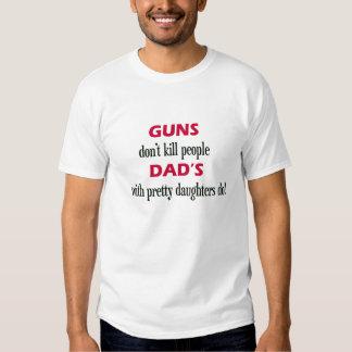 de pistolen ' doden mensen geen papa met mooie t-shirts
