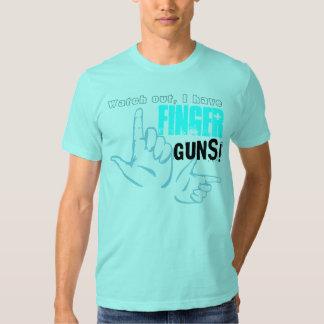 De Pistolen van de vinger Shirt