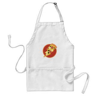 De Pizza van de flits Standaard Schort