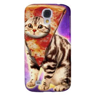 De pizza van de kat - kattenruimte - kat memes galaxy s4 hoesje