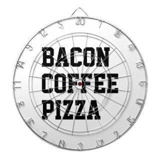 De Pizza van de Koffie van het bacon Dartbord
