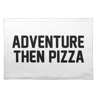 De Pizza van het avontuur toen Placemat