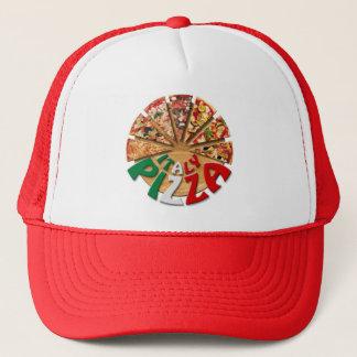 De Pizza van Italië van het pet op de scherpe raad