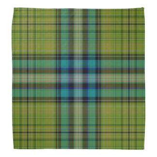 De Plaid van het geruite Schotse wollen stof Bandana