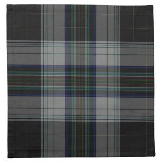 De Plaid van het geruite Schotse wollen stof Katoenen Servet