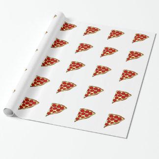 De Plak van de pizza Cadeaupapier