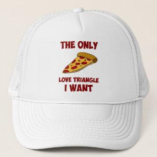 De Plak van de pizza - de Enige Driehoek van de Trucker Pet