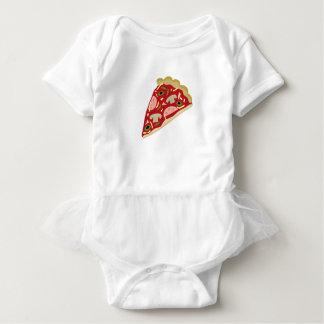 De plak van de pizza romper